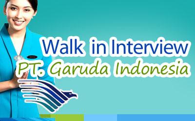 Lowongan Kerja di PT Garuda Indonesia Januari 2013