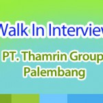 walk in interview thamrin